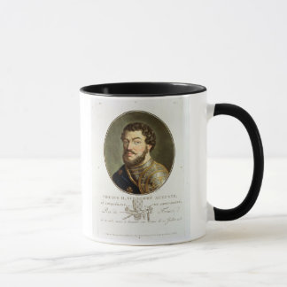 Portrait of Philip II, Called Augustus, King of Fr Mug