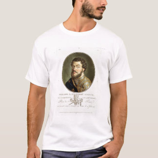 Portrait of Philip II, Called Augustus, King of Fr T-Shirt
