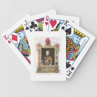 Portrait of Philip II King of Spain (1527-98) from Bicycle Playing Cards
