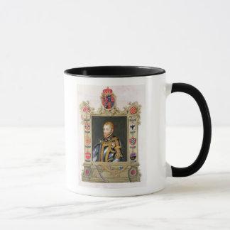 Portrait of Philip II King of Spain (1527-98) from Mug