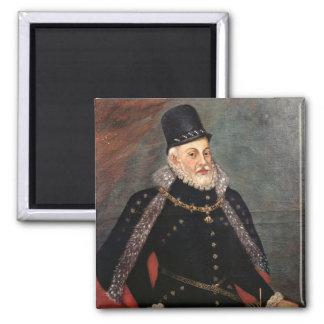 Portrait of Philip II  of Spain 2 Refrigerator Magnet