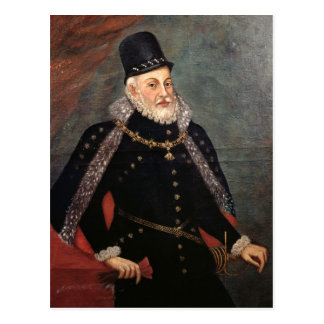 Portrait of Philip II  of Spain 2 Postcards