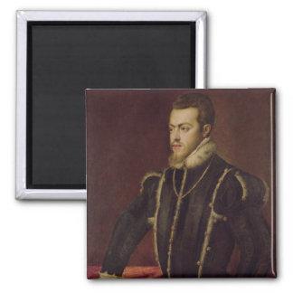 Portrait of Philip II  of Spain Magnet