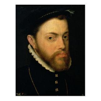 Portrait of Philip II of Spain Postcards
