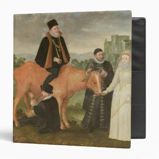 Portrait of Philip II , the Duke of Alencon 3 Ring Binders