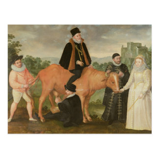 Portrait of Philip II , the Duke of Alencon Postcard