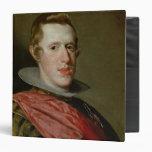 Portrait of Philip IV  in Armour, 1628 Binders