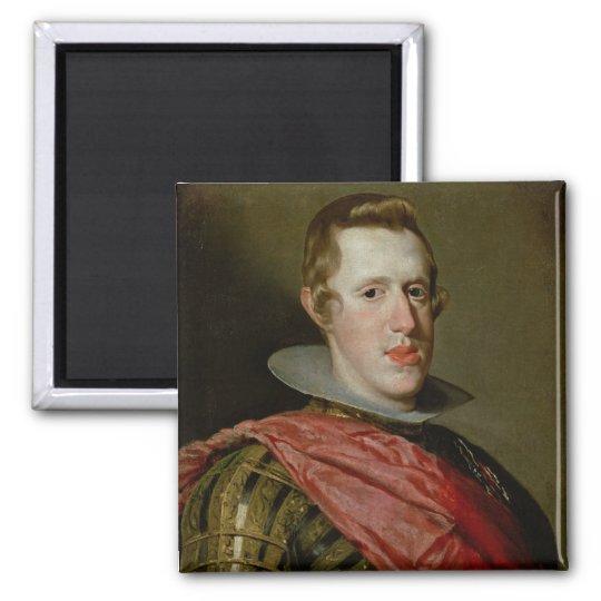 Portrait of Philip IV  in Armour, 1628 Magnet