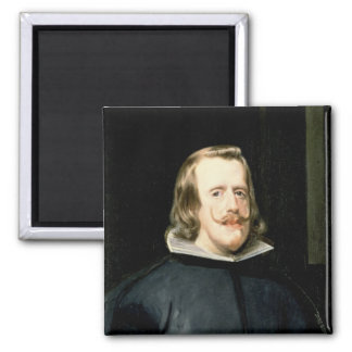 Portrait of Philip IV  in Court Dress, 1655 2 Inch Square Magnet