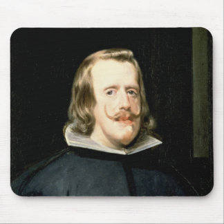 Portrait of Philip IV  in Court Dress, 1655 Mouse Pad
