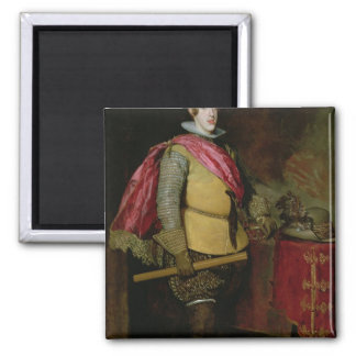 Portrait of Philip IV  of Spain Magnet