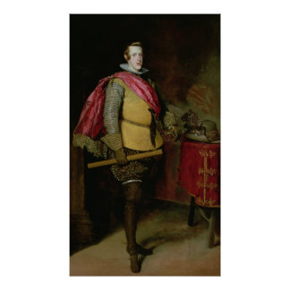 Portrait of Philip IV  of Spain Poster