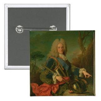 Portrait of Philip V 2 Inch Square Button