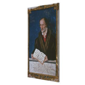 Portrait of Philipp Melanchthon Canvas Print