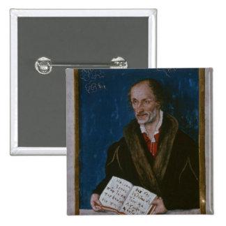 Portrait of Philipp Melanchthon Pinback Button