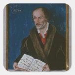 Portrait of Philipp Melanchthon Square Sticker