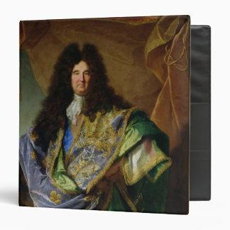 Portrait of Philippe de Courcillon  Marquis Vinyl Binder