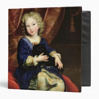 Portrait of Philippe de France Binder