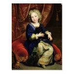 Portrait of Philippe de France Postcard