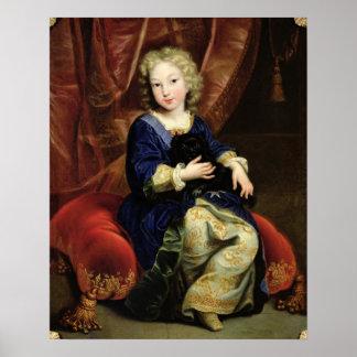Portrait of Philippe de France Poster