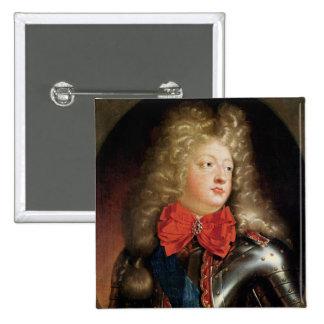 Portrait of Philippe d'Orleans Buttons