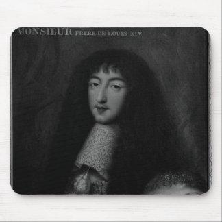 Portrait of Philippe  Duc d'Orleans Mouse Pad