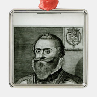 Portrait of Philippe-Emmanuel de Lorraine Christmas Tree Ornaments