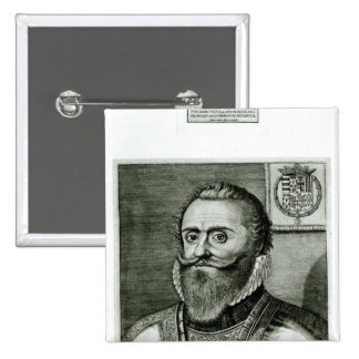 Portrait of Philippe-Emmanuel de Lorraine Pinback Button