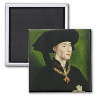 Portrait of Philippe le Bon  Duc de Bourgogne Fridge Magnets