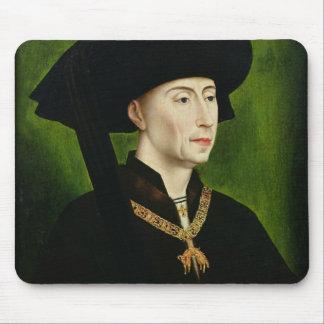 Portrait of Philippe le Bon  Duc de Bourgogne Mouse Pad