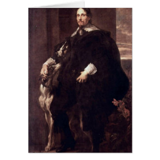 Portrait Of Philippe Le Roy By Anthony Van Dyck Greeting Card
