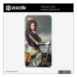 Portrait of Philippe of Orleans (1674-1723) (oil o iPhone 4S Decals