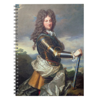 Portrait of Philippe of Orleans (1674-1723) (oil o Note Books