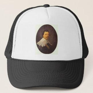 Portrait of Philips Lukasz by Rembrandt Trucker Hat