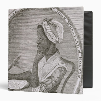 Portrait of Phillis Wheatley Binder