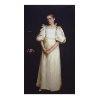 Portrait of Phyllis Waterlow by John Waterhouse Print