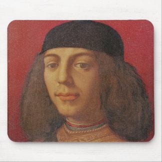Portrait of Piero di Lorenzo de Medici Mouse Pad