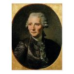 Portrait of Pierre Augustin Caron de Postcard