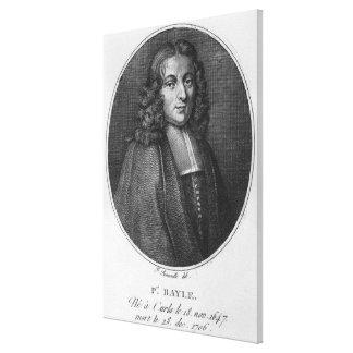 Portrait of Pierre Bayle Canvas Prints