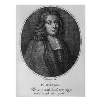 Portrait of Pierre Bayle Posters