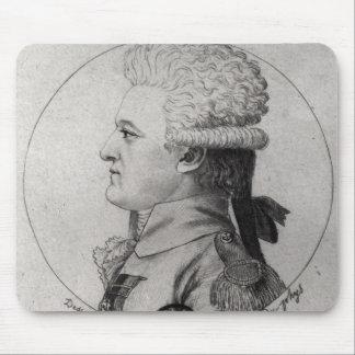 Portrait of Pierre Charles de Villeneuve Mouse Pad