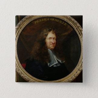 Portrait of Pierre Corneille Pinback Button