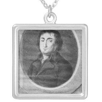 Portrait of Pierre Joseph Cambon Silver Plated Necklace
