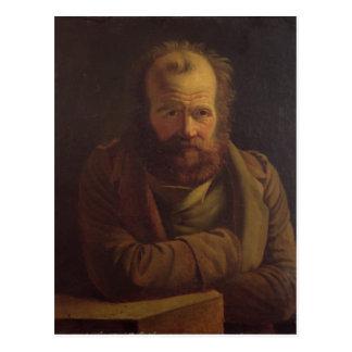 Portrait of Pierre Joseph Proudhon Postcard