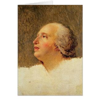 Portrait of Pierre Louis Prieur Card