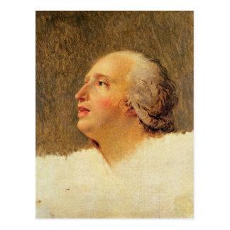 Portrait of Pierre Louis Prieur Postcard