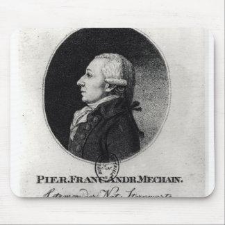 Portrait of Pierre Mechain Mouse Pad