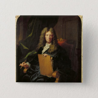 Portrait of Pierre Mignard  c.1690 Button