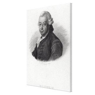Portrait of Pierre Poivre Canvas Print