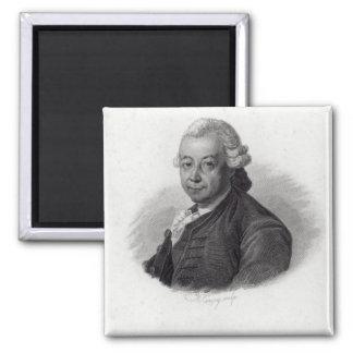 Portrait of Pierre Poivre Magnet